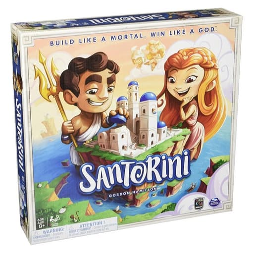 Roxley Santorini Strategy Board Game Only $15.94 (Was $39.95)