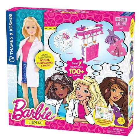 Thames & Kosmos Barbie STEM Kit with Barbie Scientist Doll Only $7.48 (Was $29.95)