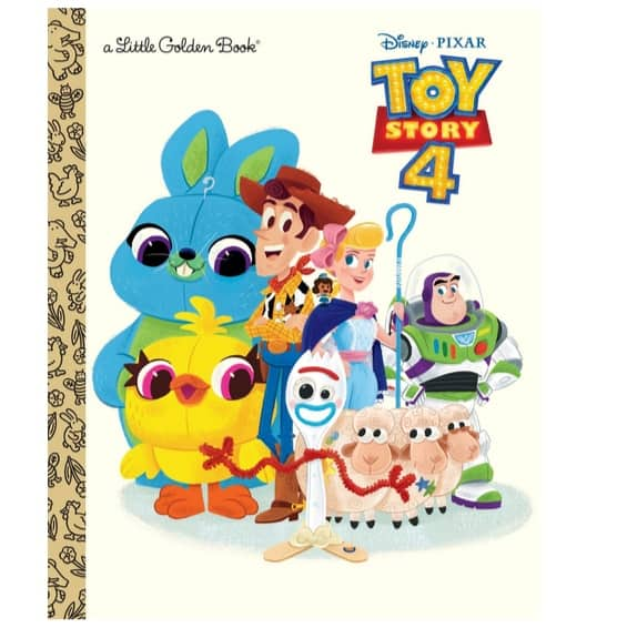 Toy Story 4 Little Golden Book Only $2.99