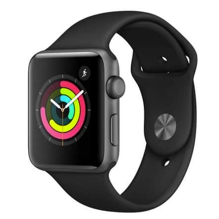 Apple Watch Series 3 GPS 42mm Aluminum Case with Sport Band ONLY $229 (Was $309)