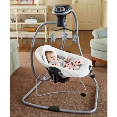 Target: Graco DuetConnect LX Multi-Direction Baby Swing and Bouncer $84.79 (Was $150)