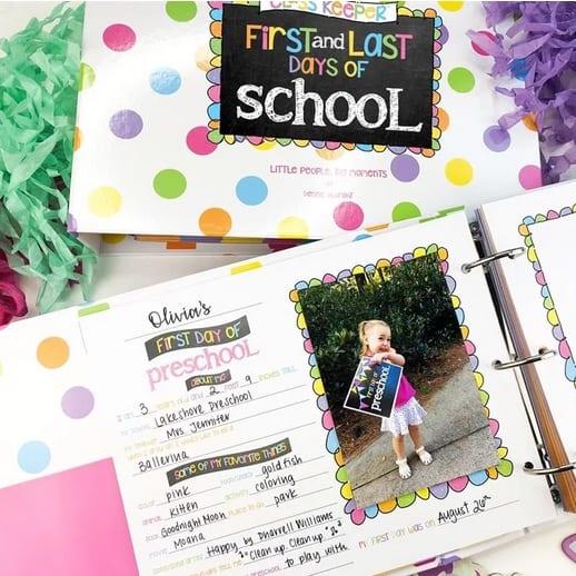 School Days Memory Book $34.95 + Free Shipping