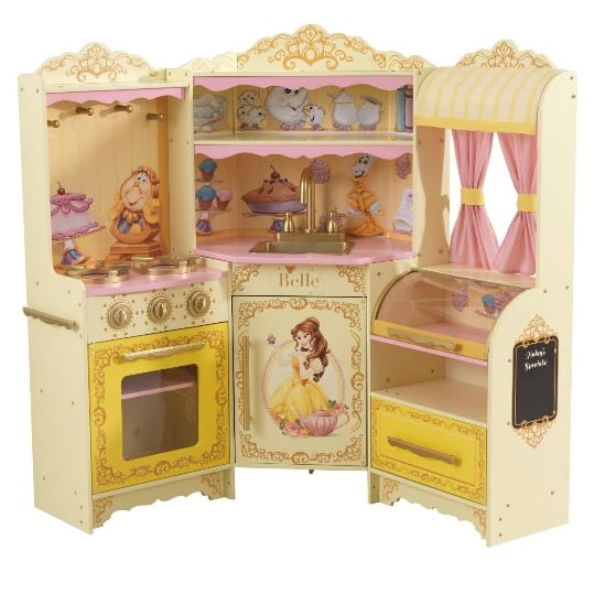KidKraft Disney Princess Belle Pastry Kitchen $97 (Was $194)