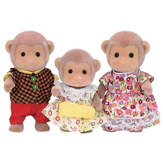 Calico Critters Mango Monkey Family Doll Set Only $5.40 (Was $18.95)