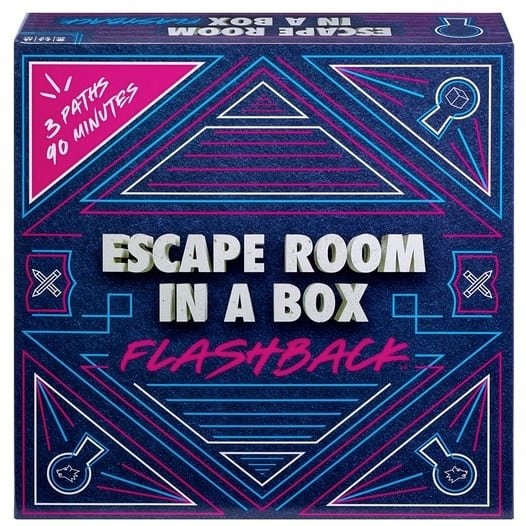 Mattel Games Escape Room in A Box: Flashback Game Only $10 (Was $29.99)