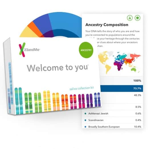 23andMe Personal Ancestry DNA Test Kit Only $49