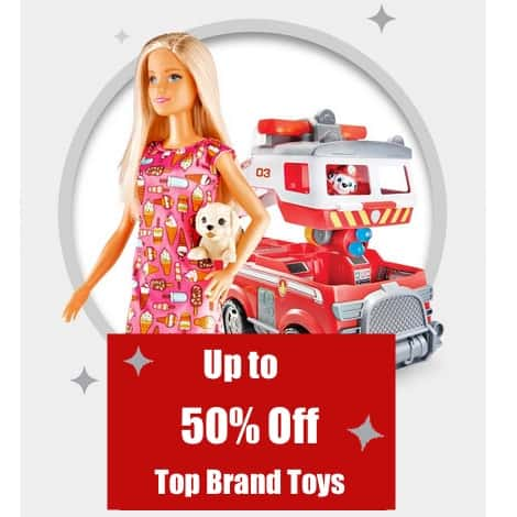 Target: Up to 50% Off Top Brand Toys