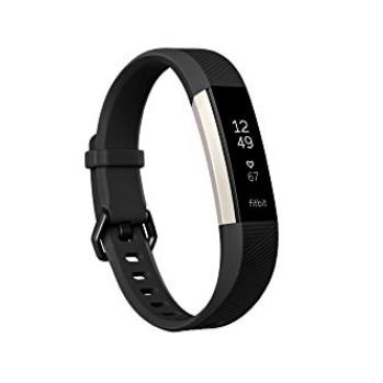 Fitbit Alta HR, Black, Small $49.99 (Was $129.95)