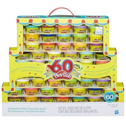 Play-Doh 60th Anniversary Celebration 60-Pack $14.99 (Was $30)