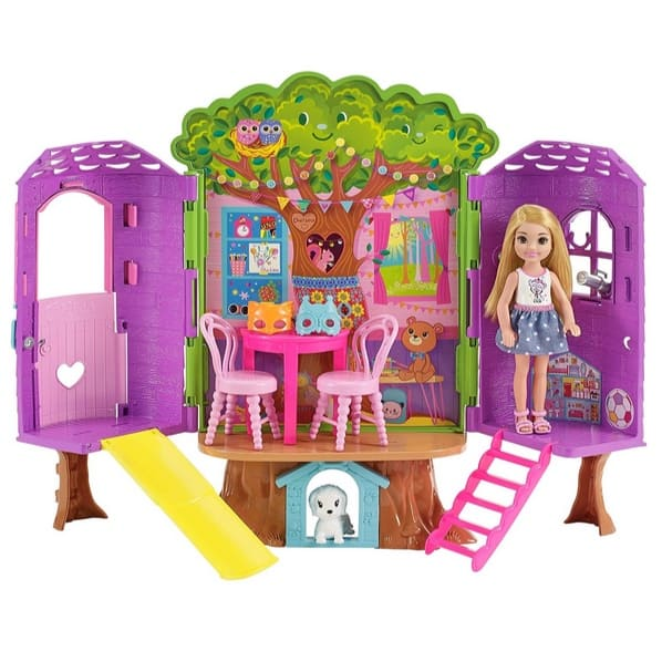 Barbie Club Chelsea Treehouse House Playset Only $11.69