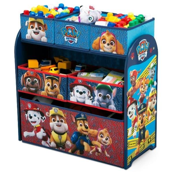 Target: PAW Patrol Kids Multi-Bin Toy Organizer Only $21.99