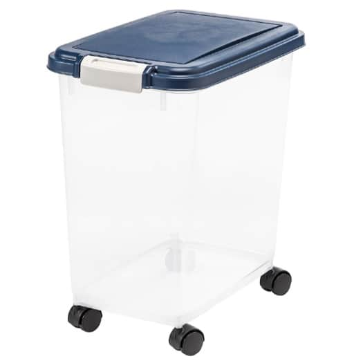 IRIS Airtight Pet Food Storage Container Now .99 (Was .99)
