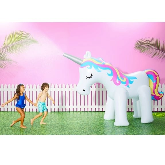 Up to 30% Off Water Toys & Floats ~ Sun Squad Unicorn Sprinkler Only $34.99
