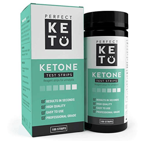Perfect Keto Ketone Testing Strips: 100 Count Only $1.60 **Expired**