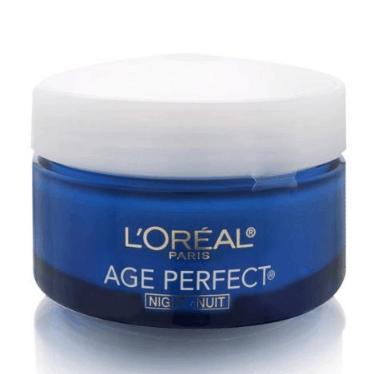 L'Oréal Paris Skin Care Age Perfect Night Cream, Anti-Aging Face Moisturizer .81 (Was )