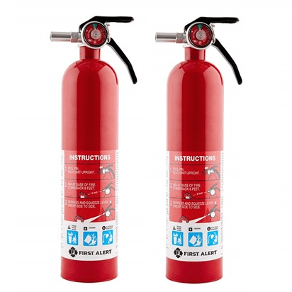 2 Pack of First Alert Standard Home Fire Extinguishers $39.99 (Was $60)