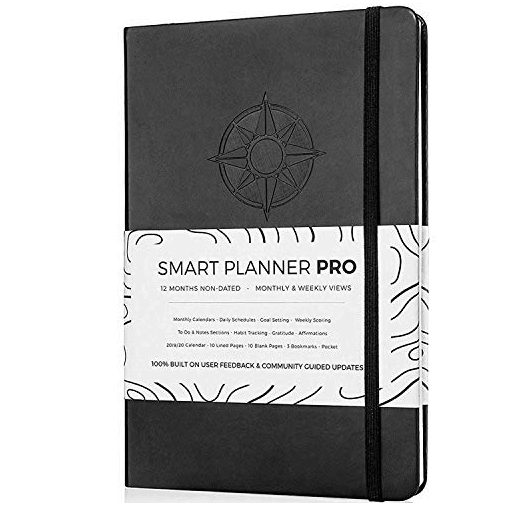 Planner 2019-2020 - Daily Weekly Monthly Planner with Gratitude Journal $18.70