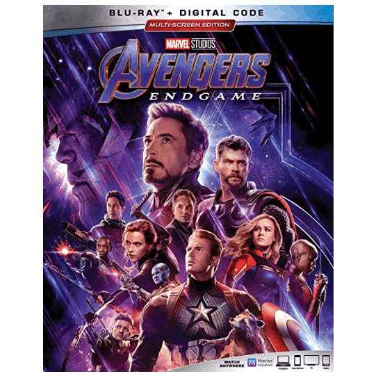 AVENGERS: ENDGAME Blu-ray .96 at Amazon and Walmart