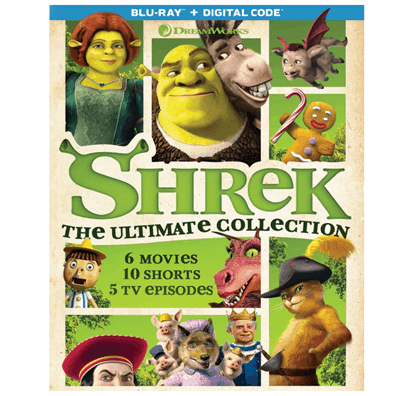 Shrek: The Ultimate Collection on Blu-ray Only .99 (Was .98)