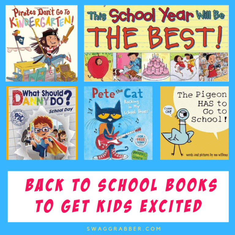 Back to School Books to Get Kids Excited