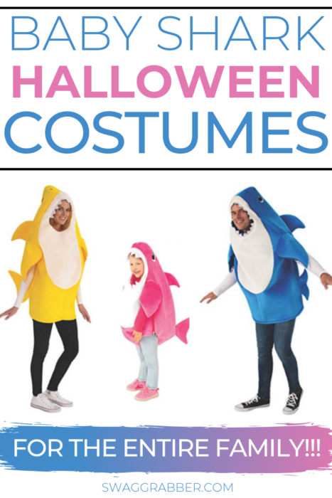 Baby Shark Costumes for The Entire Family