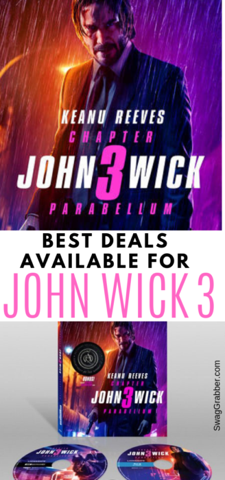 Best Deals Available to Buy John Wick 3