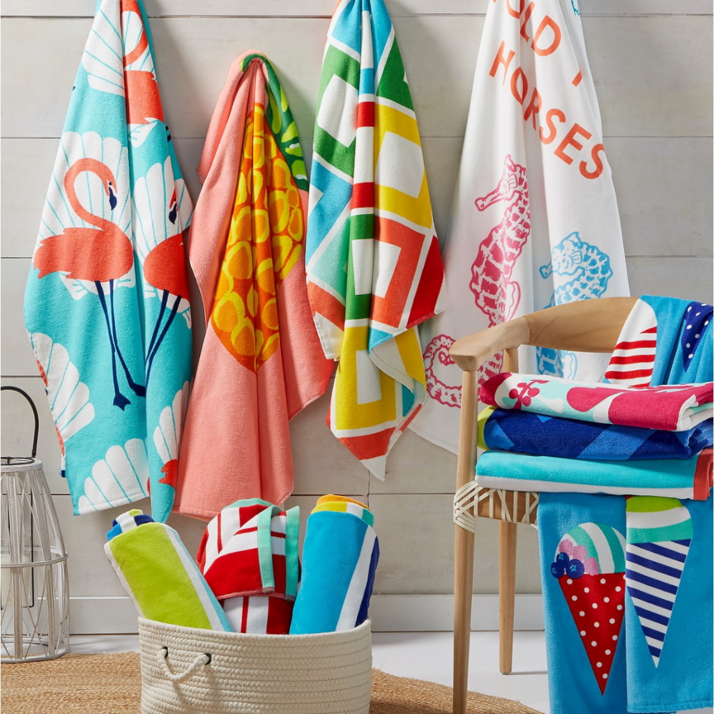 Macy's: 70% Off Martha Stewart Striped Beach Towels - ONLY .99