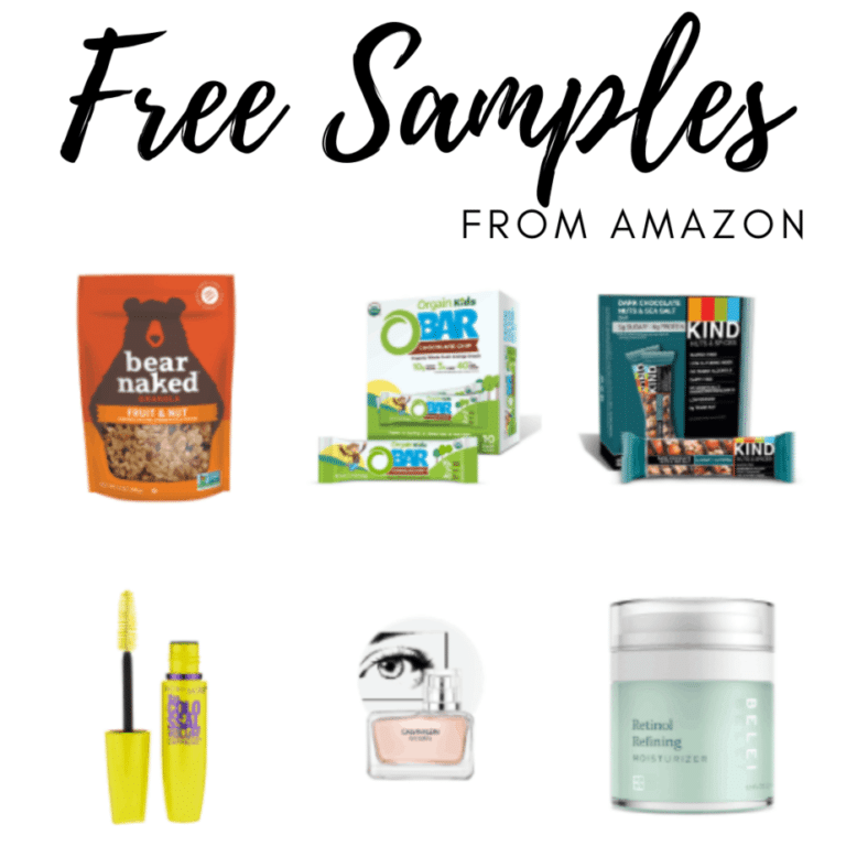 Get FREE Samples from Amazon