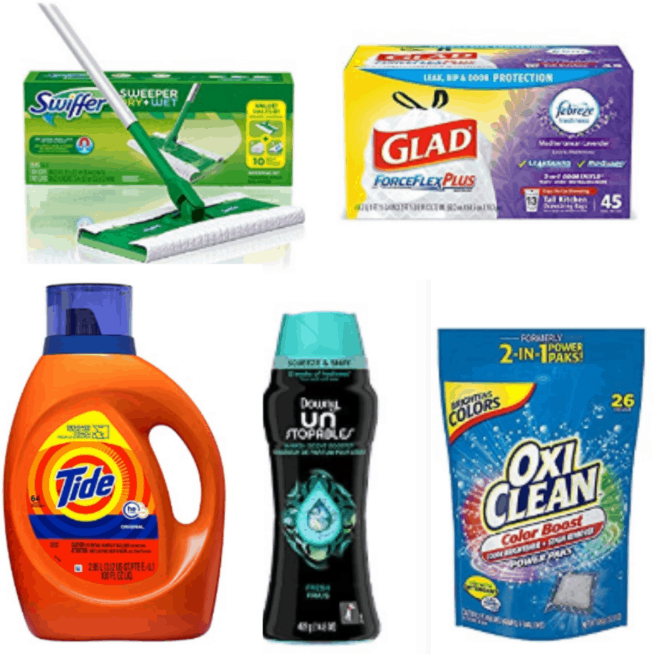 Save $10 off Three Household Items - Downy, Tide, Glad, and More
