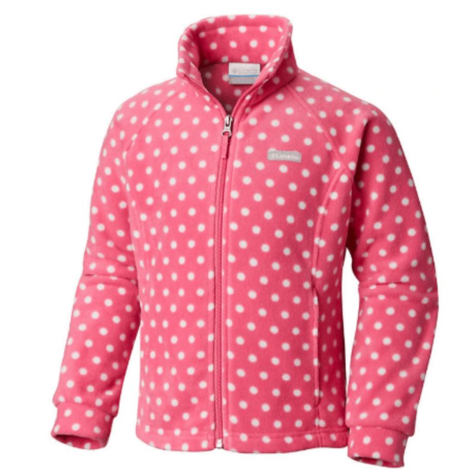 Columbia Girls' Benton Springs II Printed Fleece Jacket ONLY $9 (Was $45)