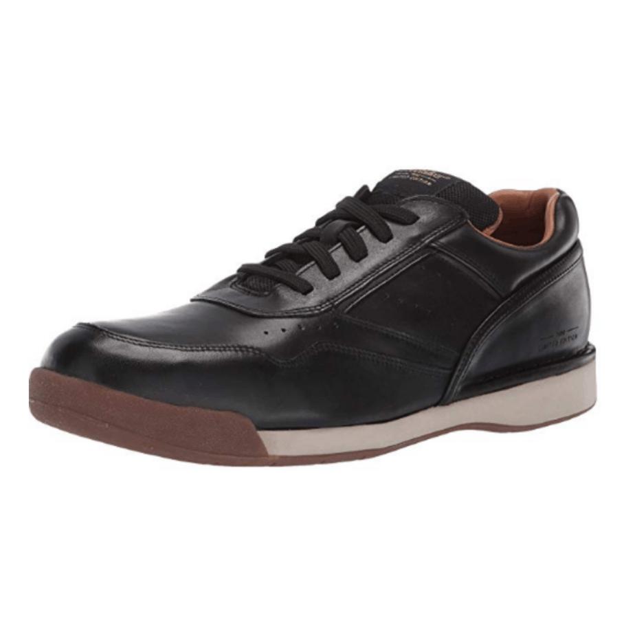 Rockport Men's Prowalker 7100 Sneaker, Black Burnish $48.93