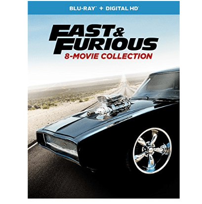 Fast & Furious 8-Movie Collection on Blu-ray $29.99 (Was $70)