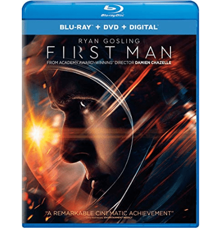 First Man Movie on Blu-ray $5.99