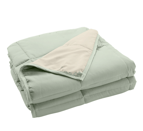 Zulily: 20lb. Reversible Weighted Blanket ONLY $39.99 (Was $180)
