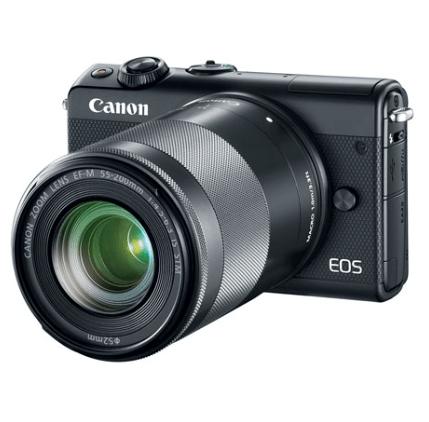 Canon EOS M100 24.2MP Camera + 2 Lenses + 16GB SD Card $499.99 (Was $950)