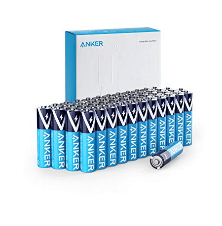 Anker Alkaline AAA Batteries (48-Pack) Only .99