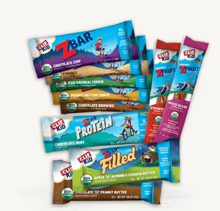10-Count Clif Kid Z-Bar & Z-Fruit Sample Box Only .00 w/ Free Shipping