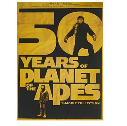 50 Years Of Planet Of The Apes: 9-movie Collection [Blu-ray] .99