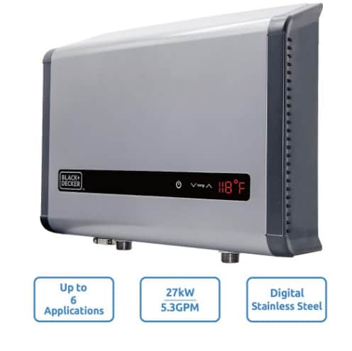 Home Depot: Up to 40% off Tankless Water Heaters