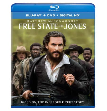 Free State of Jones on Blu-ray Only .00