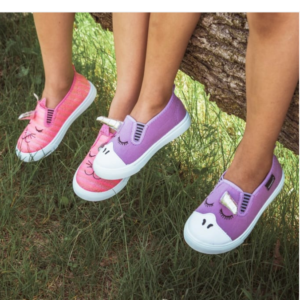 MUK LUKS Kid's Canvas Shoes $12.99 with Free Shipping