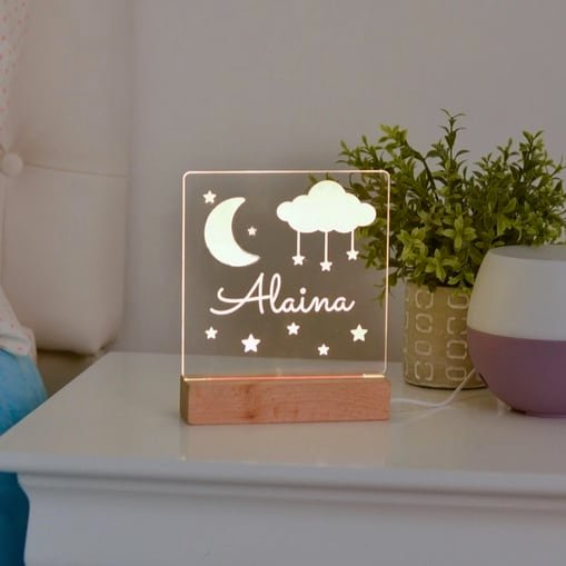 Personalized Kids Night Light Only $19.95