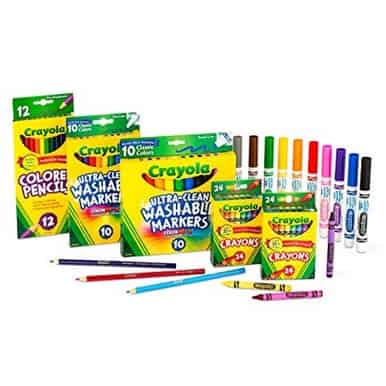 Up to 70% Off Crayola Back to School Essentials **Today Only**