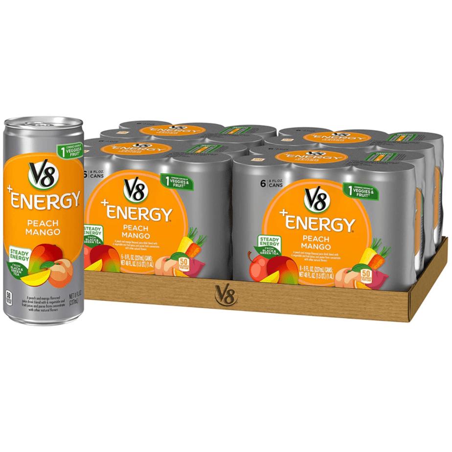 V8 +Energy, Peach Mango, 8 Ounce, 24 Count Only .97