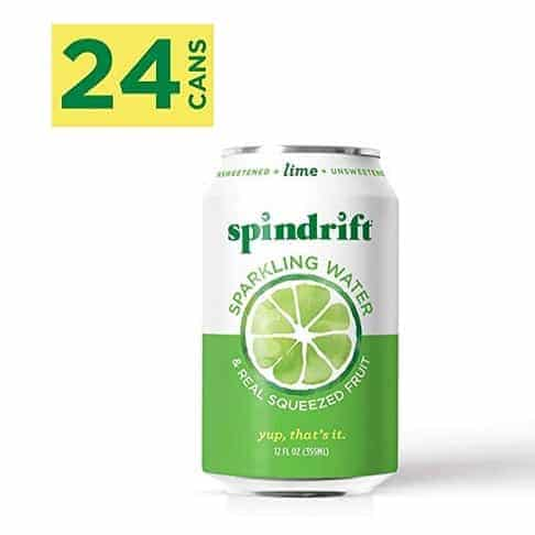 Spindrift Sparkling Water Lime Flavored 24-Pack Only .23
