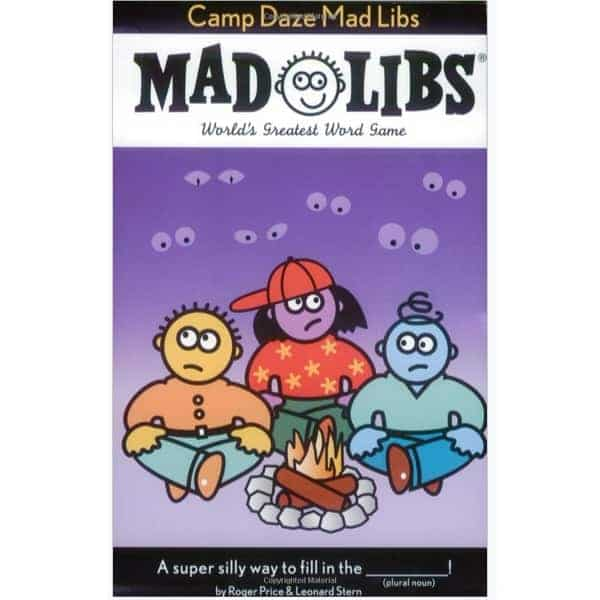 Camp Daze Mad Libs Only .93 (Was .99)