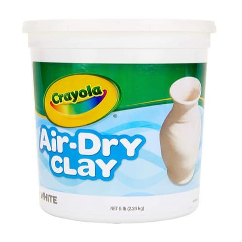 Crayola Air-Dry Clay 5 Pound Bucket Only $8.09