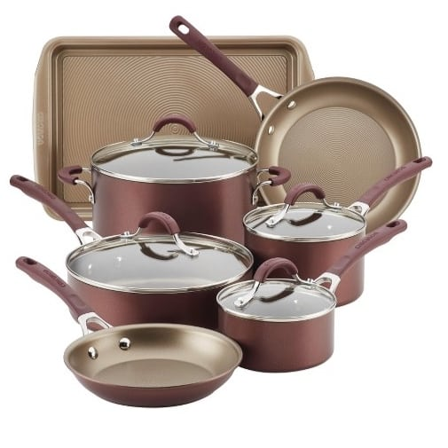 Target: Circulon Innovatum 10pc Hard-Anodized Nonstick Cookware Set $87.49 (Was $149.99)