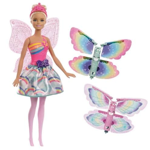 Barbie Dreamtopia Rainbow Cove Flying Wings Fairy Doll Only .76 (Was .99)