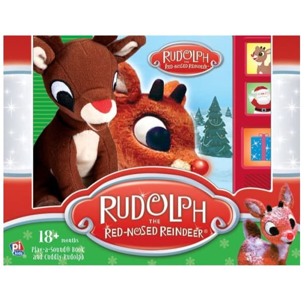 Barnes & Noble: Rudolph the Red-Nosed Reindeer: Book Box and Plush ONLY .74 (Was .98)